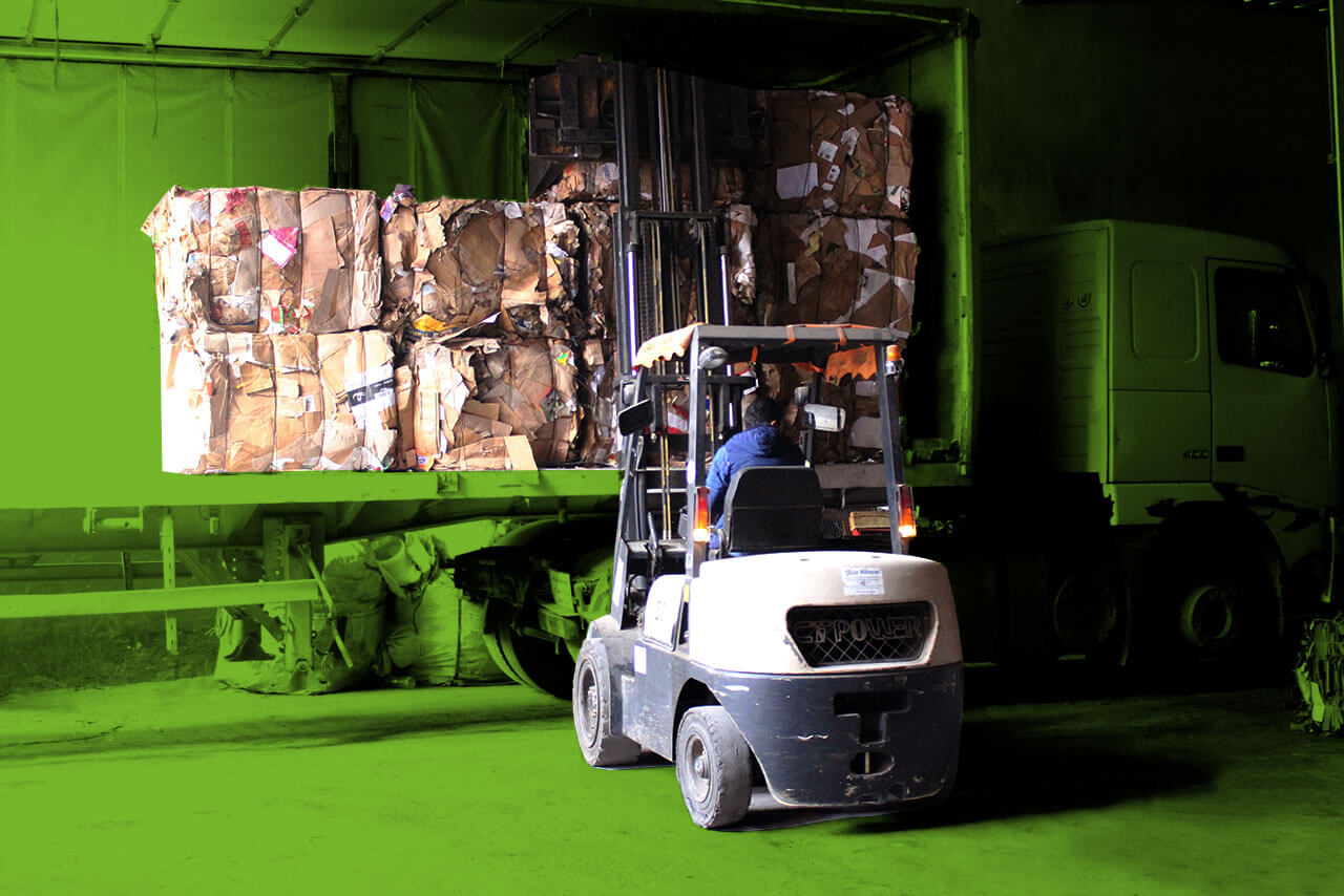 Plus de 50 tonnes de déchets par jour